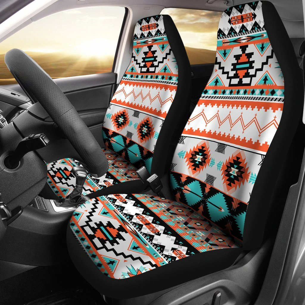 Tribal Aztec Indians pattern Universal Fit Car Seat Covers