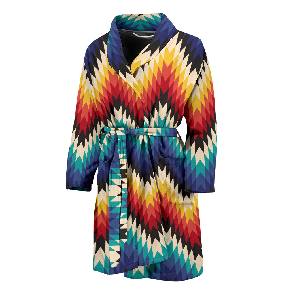 Tribal Aztec Men Bath Robe