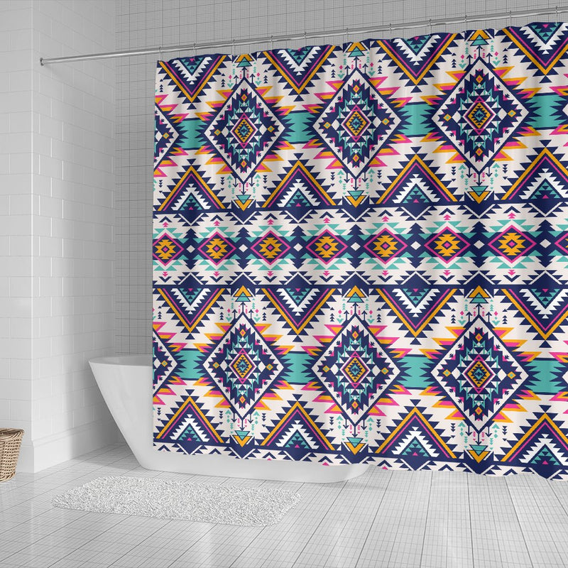 Tribal Aztec Native American Shower Curtain