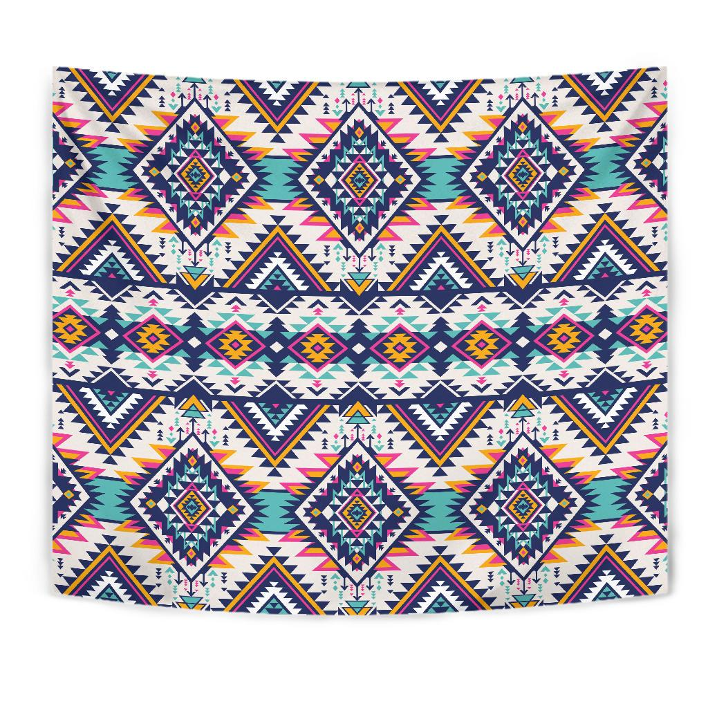Tribal Aztec native american Tapestry