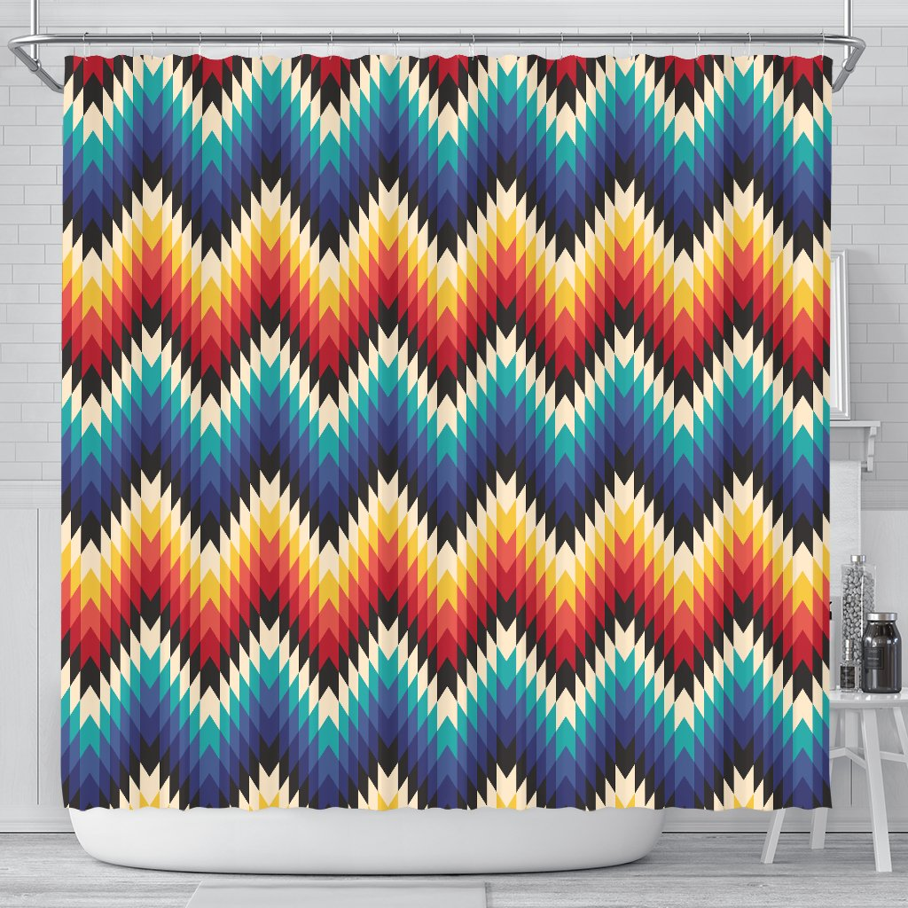 Tribal Aztec Shower Curtain