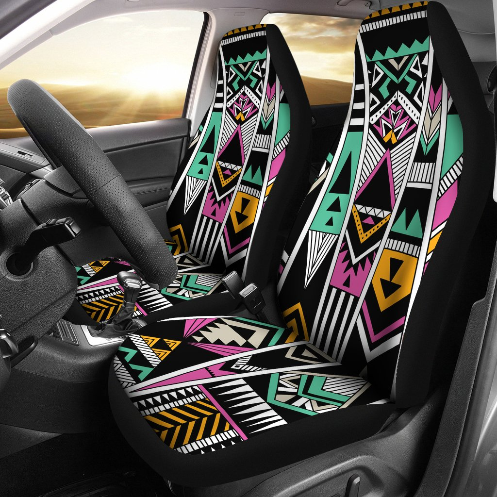 Tribal Aztec Triangle Universal Fit Car Seat Covers