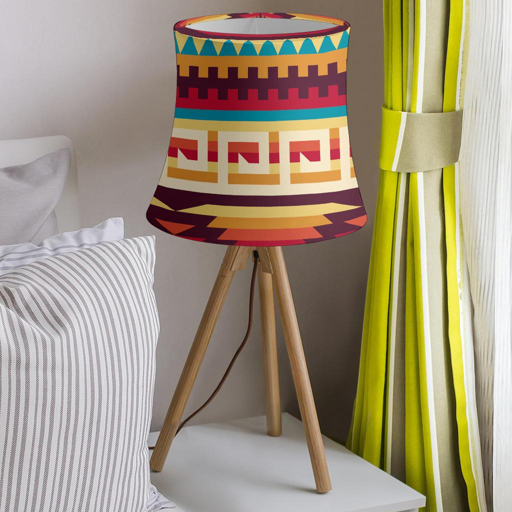 Tribal Aztec Vintage Drum Lamp Shade-JORJUNE.COM