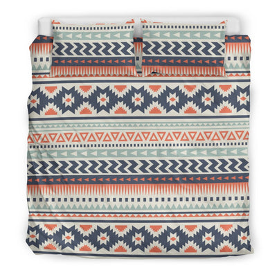 Tribal Aztec vintage pattern Duvet Cover Bedding Set