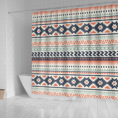 Tribal Aztec vintage pattern Shower Curtain