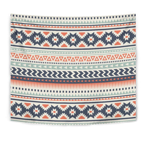 Tribal Aztec vintage pattern Tapestry