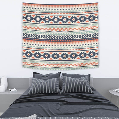 Tribal Aztec vintage pattern Wall Tapestry