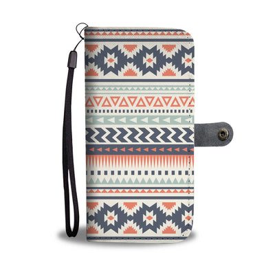 Tribal Aztec vintage pattern Wallet Phone case