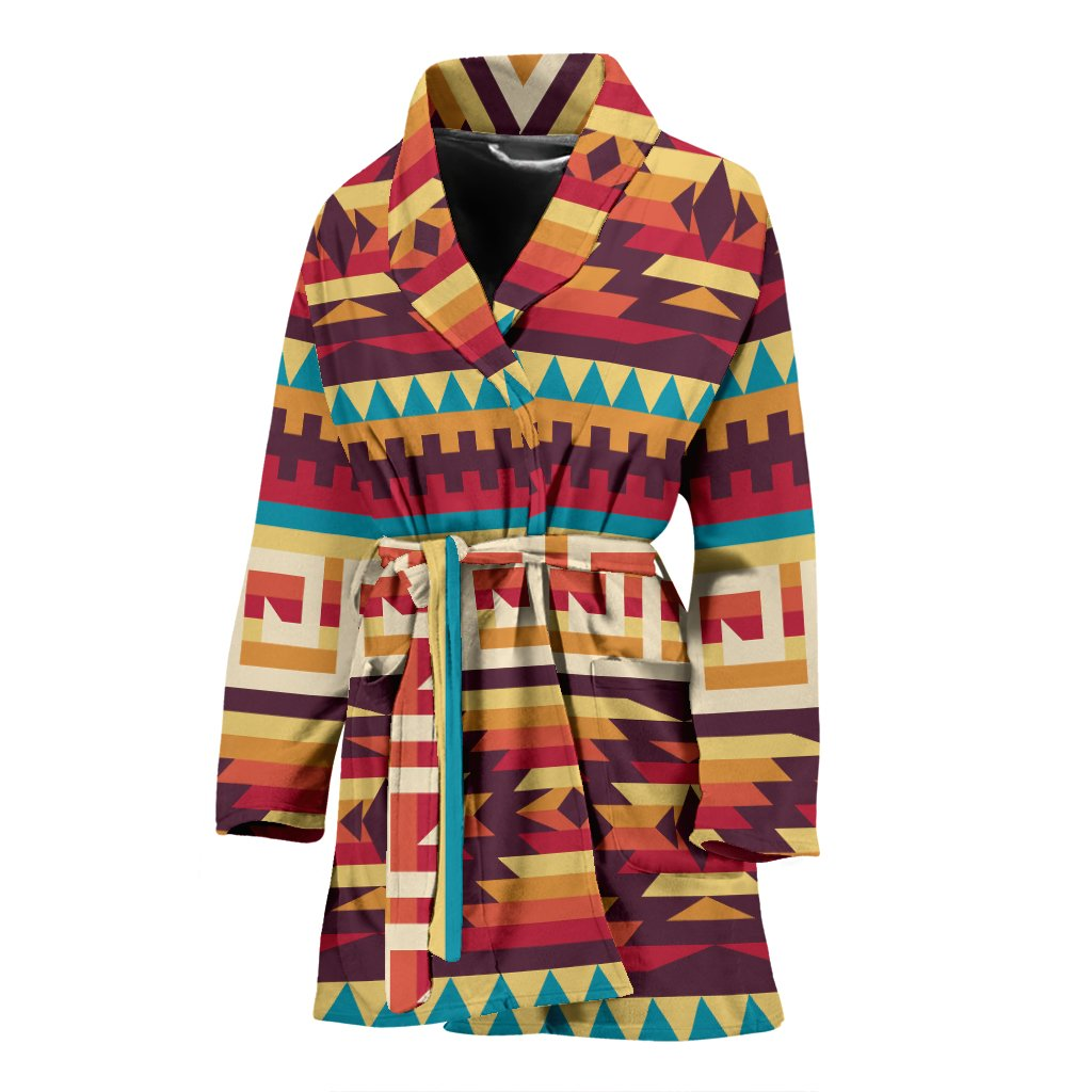Tribal Aztec Vintage Women Bath Robe