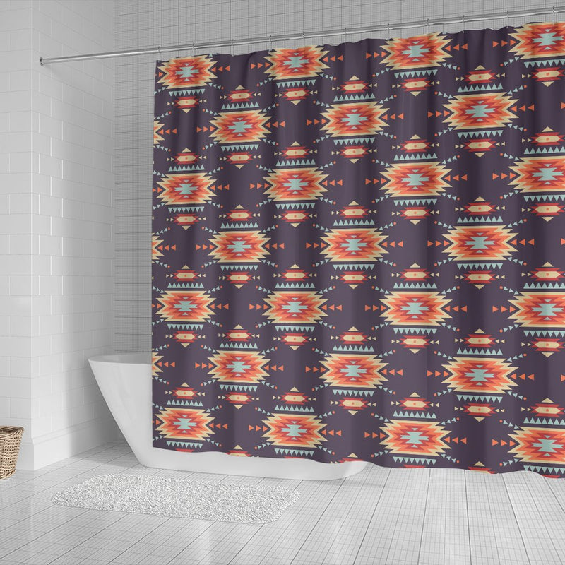 Tribal Indians Aztec Shower Curtain