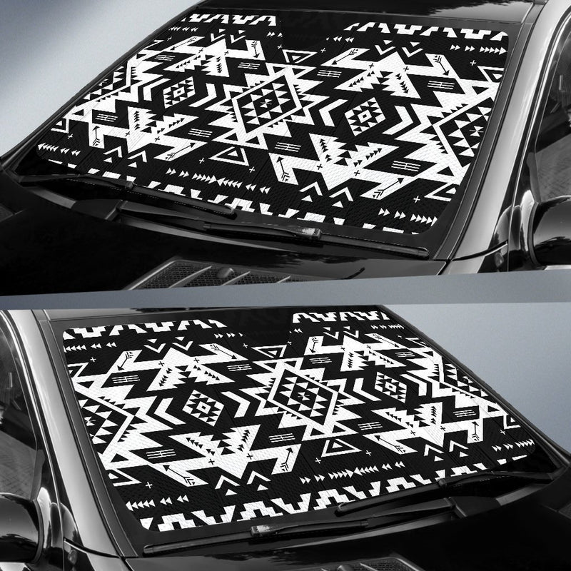 Tribal Indians Native Aztec Car Sun Shade-JorJune