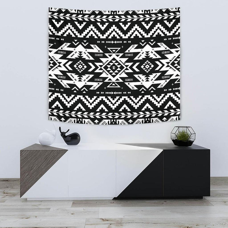 Tribal indians native aztec Tapestry