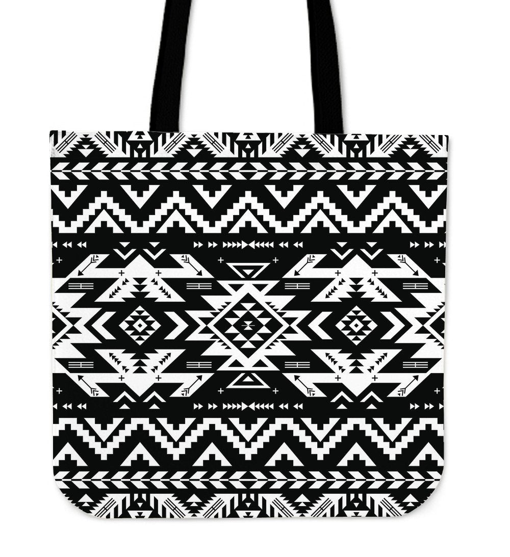 Tribal Indians Native Aztec Tote Bags