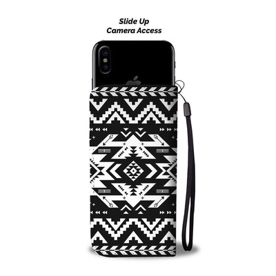 Tribal indians native aztec Wallet Phone case
