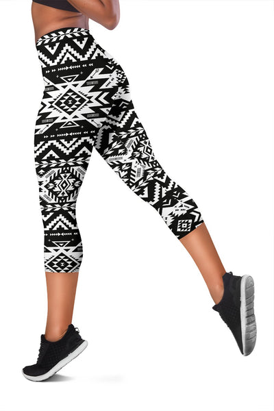 Tribal Indians native Aztec Women Capris