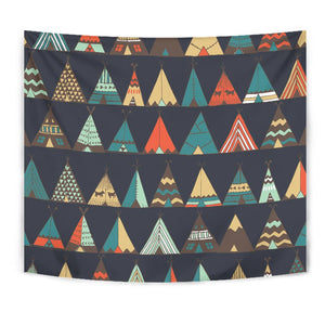 Tribal native american tent Aztec Tapestry