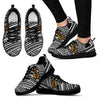 Tribal Polynesian Hawaiian Fish Hook Women Sneakers