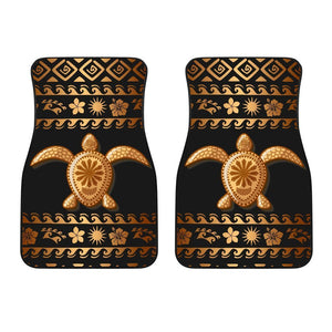Tribal Sea turtle Polynesian Hawaiian Car Floor Mats