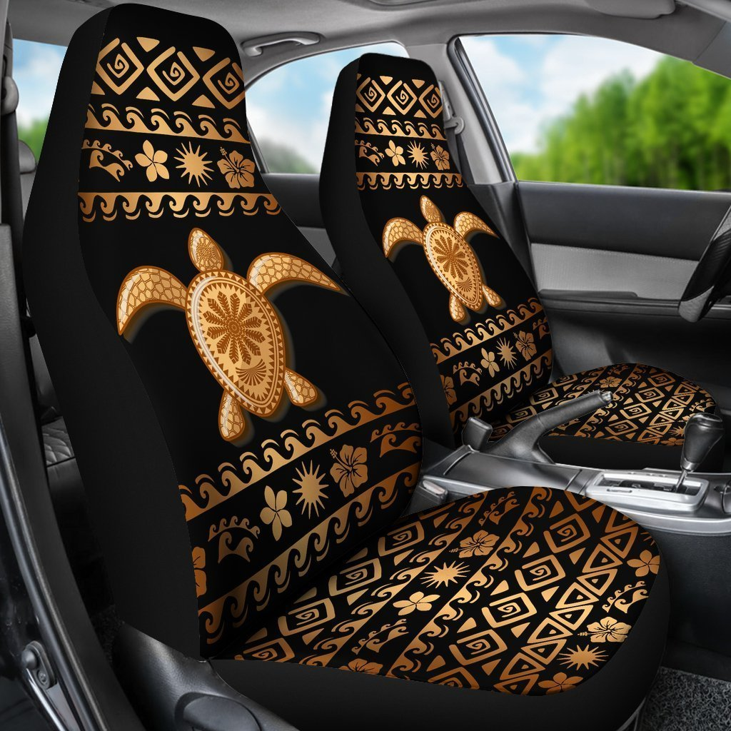 Wondrous Tribal Sea Turtle Polynesian Hawaiian Universal Fit Car Seat Covers Caraccident5 Cool Chair Designs And Ideas Caraccident5Info