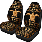 Tribal Sea turtle Polynesian Hawaiian Universal Fit Car Seat Covers