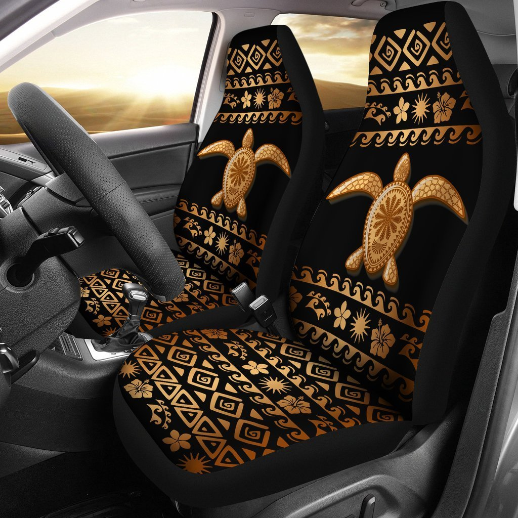 Awesome Tribal Sea Turtle Polynesian Hawaiian Universal Fit Car Seat Covers Caraccident5 Cool Chair Designs And Ideas Caraccident5Info