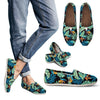 Tropical Palm Leaves Hawaiian Flower Women Casual Shoes-JorJune.com