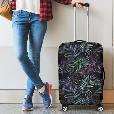 Tropical Palm Leaves Pattern Brightness Luggage Protective Cover
