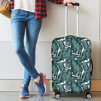 Tropical Palm Leaves Pattern Luggage Protective Cover