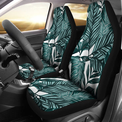 Tropical Palm Leaves Pattern Universal Fit Car Seat Covers