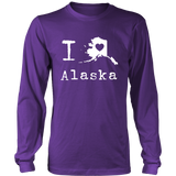 Tshirts Alaska hoodies love sweatshirts Vneck long sleeve ala1008