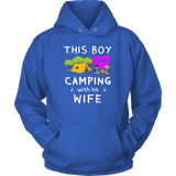 Tshirts boy loves camping with wife hoodies sweatshirts Vnecks long sleeves camp1075