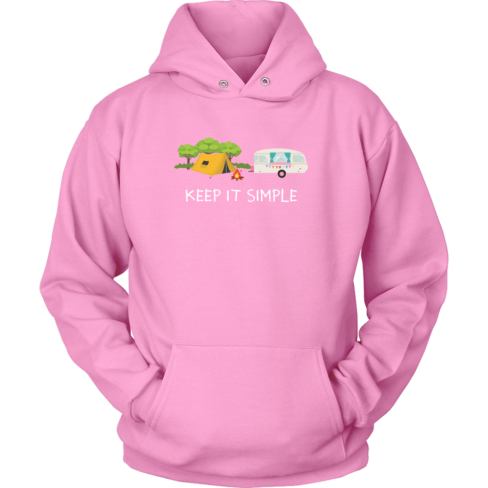 Tshirts camping keep it simple hoodies love sweatshirts Vnecks long sleeves camp1077
