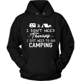 tShirts Camping therapy hoodies sweatshirts Vnecks long sleeves CAMP1001