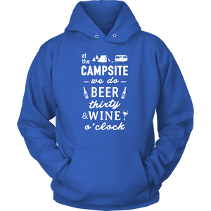 tShirts Campsite Beer Wine camping hoodies sweatshirts Vnecks long sleeves CAMP1056