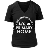 tShirts campsite is my primary home camping hoodies sweatshirts Vnecks long sleeves CAMP1042