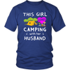 Tshirts girl loves camping with husband hoodies sweatshirts Vnecks long sleeves camp1075