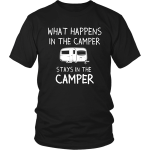 Tshirts Stays in the camper hoodies sweatshirts Vnecks long sleeves CAMP1014