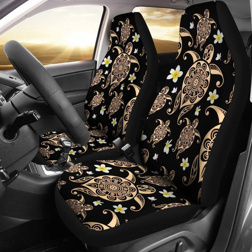 Tribal Sea Turtle Hawaiian Universal Fit Car Seat Covers