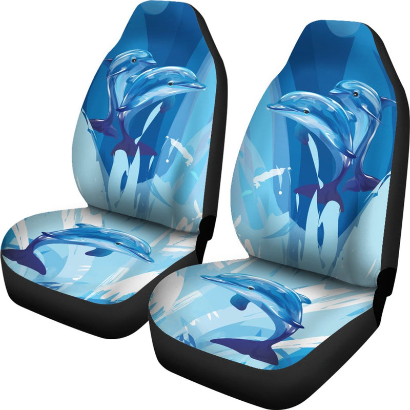 Two Dolphin Universal Fit Car Seat Covers