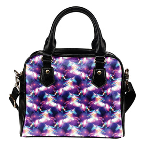 Unicorn Dream Leather Shoulder Handbag