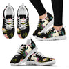 Unicorn in Floral Women Sneakers