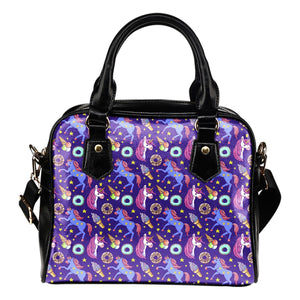 Unicorn Sweety Leather Shoulder Handbag