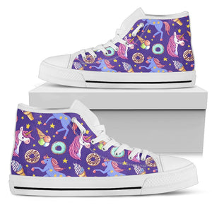 Unicorn Sweety Men High Top Shoes