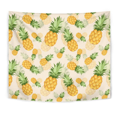 Vintage Pineapple Tropical Wall Tapestry
