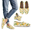Vintage Pineapple Tropical Women Casual Shoes-JorJune.com
