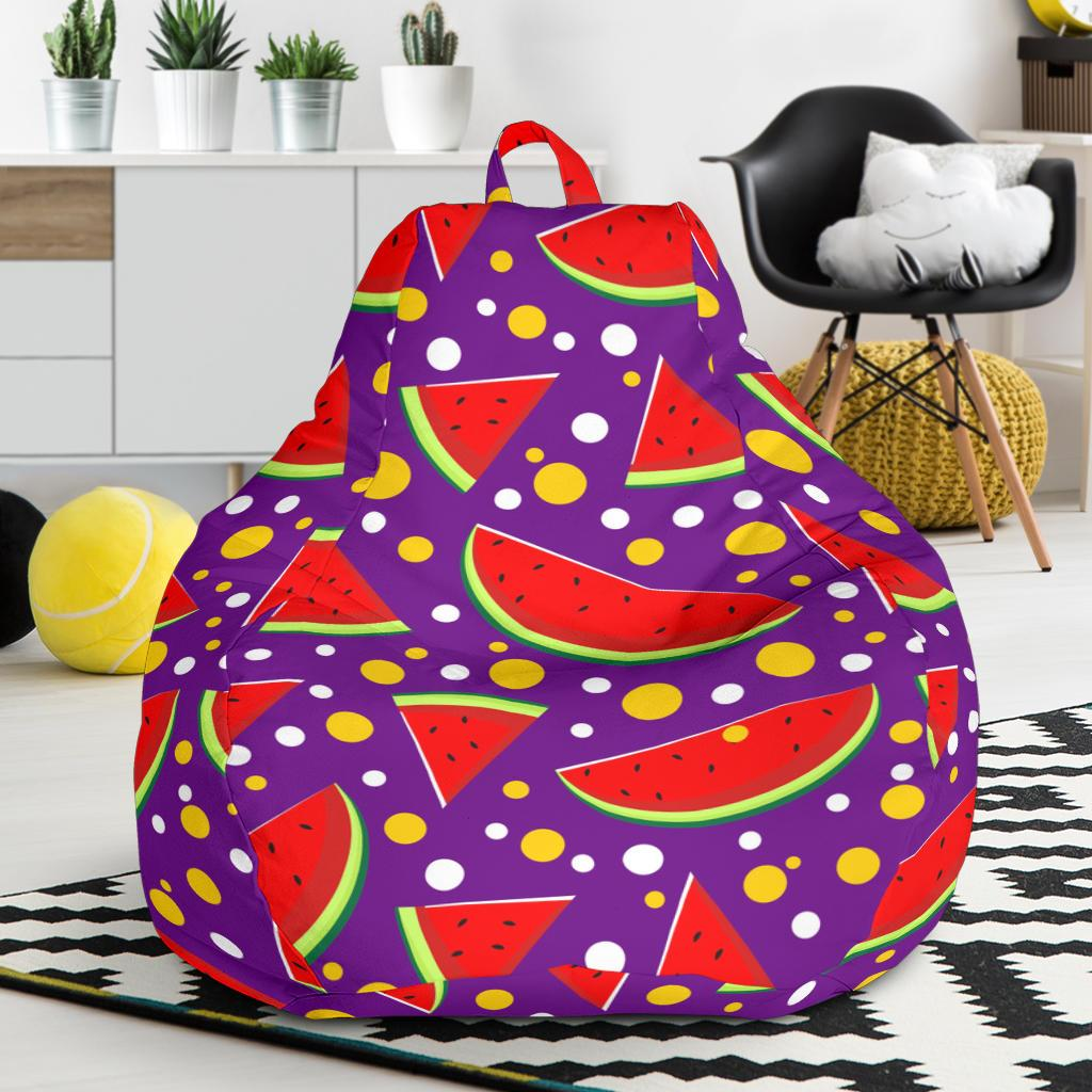 Watermelon Pattern Print Design WM010 Bean Bag Chairs-JORJUNE.COM