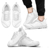 White Marble Men Sneakers