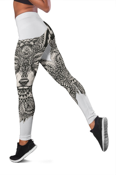 Wolf Tribal Women Leggings