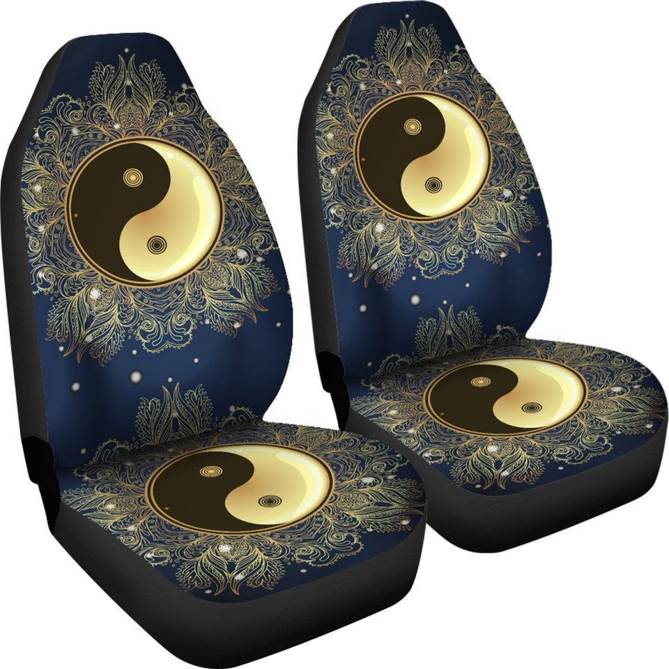 Yin Yang Mandala Universal Fit Car Seat Covers