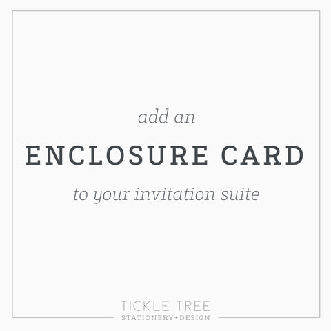 ENCLOSURE CARD TEMPLATE